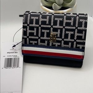 Tommy Hilfiger Card/ID & Coin/key Purse